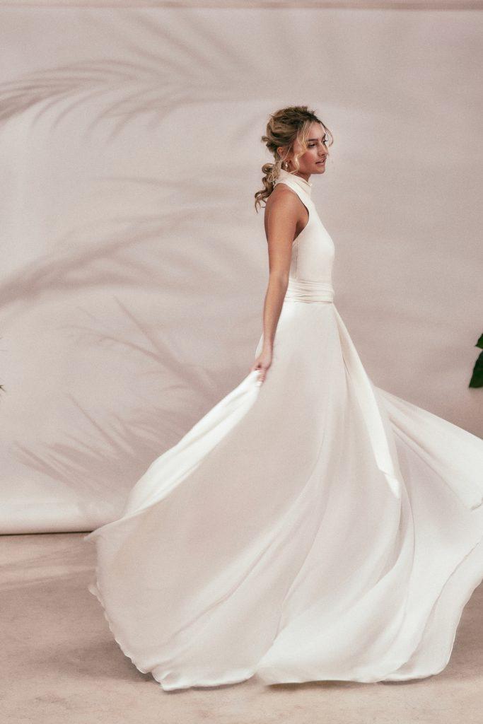 Stephanie Allin - Spirit 2021 Collection - Cascade Top and Cascade Skirt Side