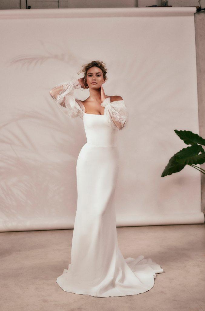 Stephanie Allin - Spirit 2021 Collection - Halo and Loretta Slv Front