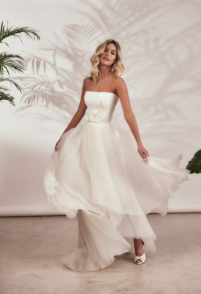 Stephanie Allin - Spirit 2021 Collection - Tilly and Lara Overskirt Front
